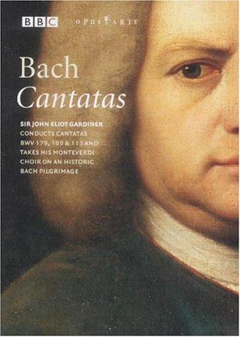 DVD mit Bach-Kantaten + einer anschließenden Dokumentation durch J.E.Gardiner