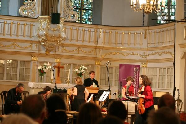 Altarraum Bachkirche Arnstadt