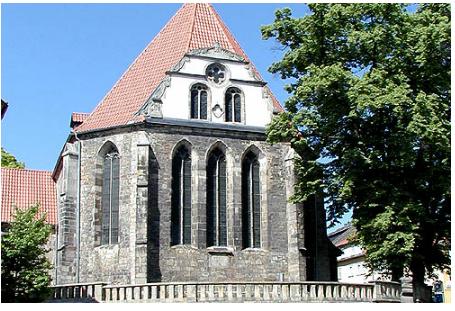 Bachkirche Arnstadt / Thüringen