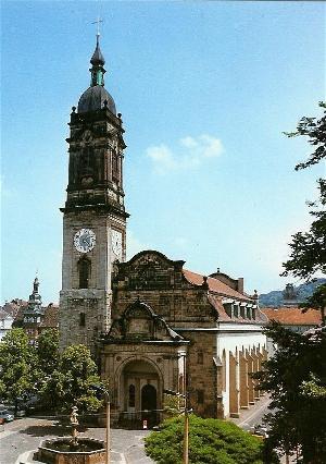 Taufkirche von J.S. Bach Georgenkirche Eisenach