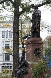 Mendelssohn-Denkmal in Leipzig