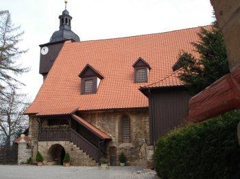 St. Bartholomäi-Kirche in Dornheim / Thüringen 1. Trauung von Bach