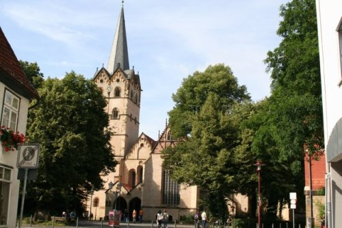 Foto: Münsterkirche in Herford