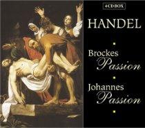 "Cover: G.G. Händel ""Brockes Passion"""