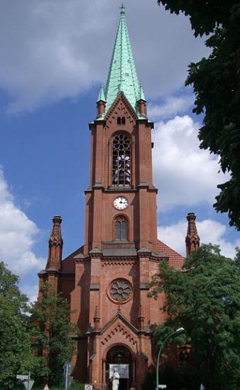 Aufführungsstätte: Evang. Gethsemanekirche in Berlin