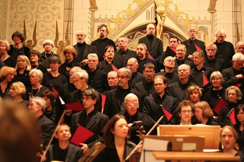 Foto: Chormitglieder der Kantorei Herrenhausen