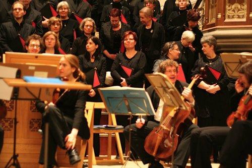 """Foto: Ensemble """"Le Concert Lorrain"""" aus Frankreich auf historischen Instrumenten"""
