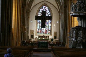 Innenansicht Münsterkirche Herford