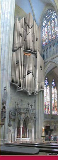 Neue Domorgel im Regensburger Dom St. Peter (Fotorechte: Domkapitel)