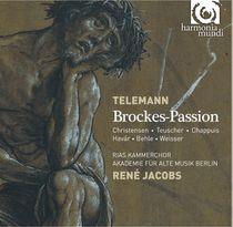 Cover: Telemann Brockes Passion