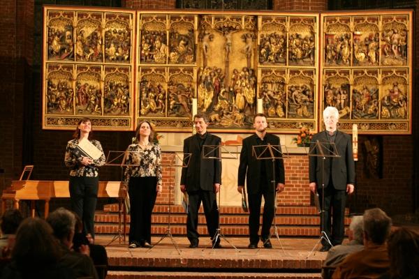 """A-capella-Ensemble """"I Fagiolini"""" in der Marktkirche Hannover"""