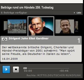 MDR-Figaro Interview Gardiner zu Händel