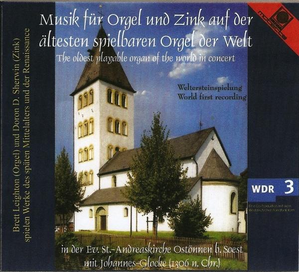 Cover: CD aus der Andreaskirche Ostönnen Orgel und Zink
