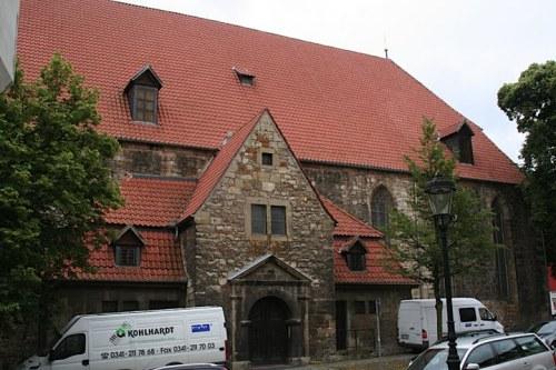 Nordportal der Bachkirche Arnstadt