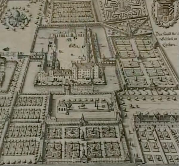 Schloss Köthen um 1700
