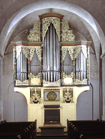 Foto: älteste bespielbare Gotische-Orgel der Welt - Andreaskirche Ostönnen