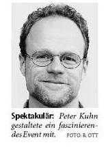 Generalmusikdirektor Peter Kuhn (Foto: NW)