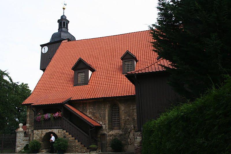 Trauungskirche von J.S. Bach St. Bartholomäi in Dornheim
