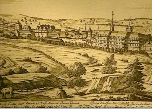 Foto: Weimar um 1708
