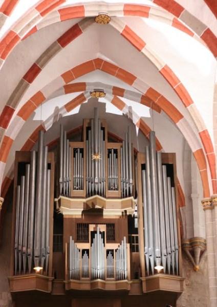 Bach-Wender-Schuke-Orgel in der Divi Blasii Kirche