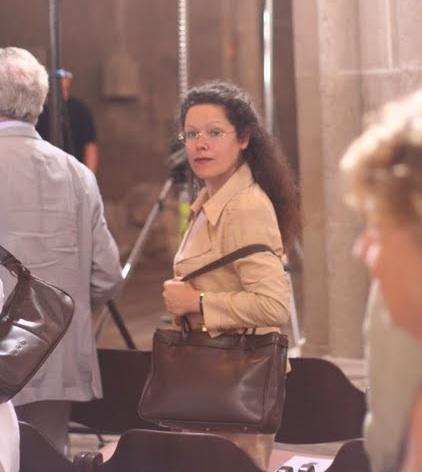 Die Ehegattin von Prof.Gerhard Weinberger, Beatice-Maria Weinberger, ebenfalls bekannte Konzert-Organistin