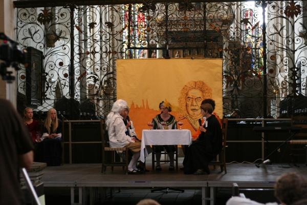 Das Evg. Gymnasium mit dem Bach-Musical in der Divi Blasii Kirche am 9.8.2009