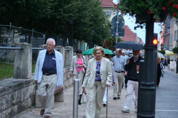 Pilgermarsch zum Orgelnachtkonzert in St. Marien Mühlhausen