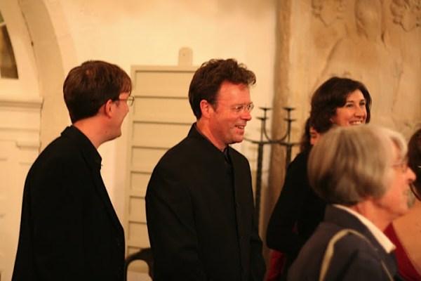 Gründer Magdalena Consort in 2008 - Peter Harvey; zweiter von links