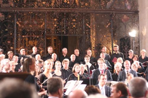 Bachchor Mühlhausen und Orchestermitglieder der Händel-Festspiele Halle