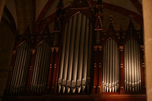 Schuke-Orgel, erbaut 1891 in der St. Marienkirche Mühlhausen-Thüringen