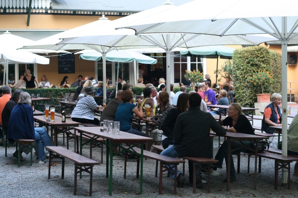 Aussengastronomie im Schlosspark Bückeburg