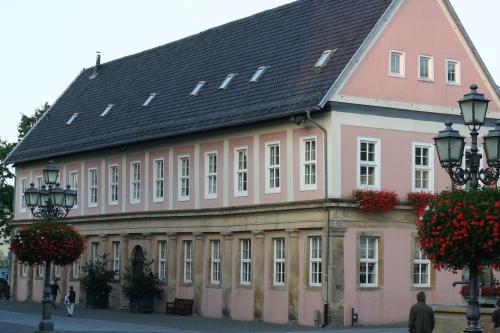 """Das """"Renthaus"""" Gebäude aus dem 17. Jahrhundert in Bückeburg (Fotorechte: V. Hege)"""