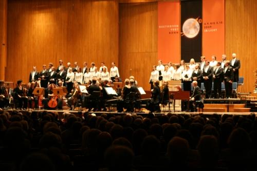 English Baroque Soloists und Monteverdi Choir in der Beethovenhalle Bonn