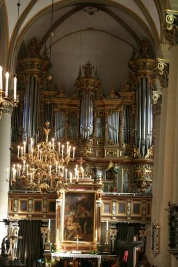 Compenius-Orgel in der Stadtkirche Bückeburg aus dem 17. Jahrhundert