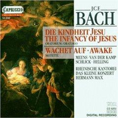 Cover: Johann Christoph Bach -Die Kindheit Jesu- Rheinische Kantorei