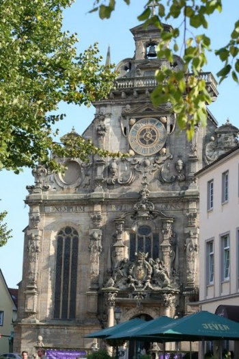Stadtkirche Bückeburg.Erbaut 1611-1615 im Stil der Weserrenaissance