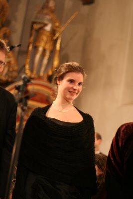 Cosima Henseler; Sopran (Foto: V. Hege)