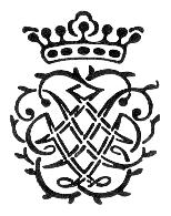 Das Bach-Siegel, entworfen von J.S. Bach