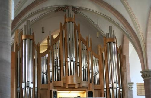 Die neue Paschen-Orgel in der Martin-Luther-Kirche in Detmold