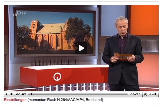 Video -Beitrag von Radio Bremen-Klage gegen Domgemeinde Verden/Aller