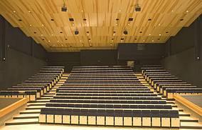 Konzertsaal der HfM in Detmold