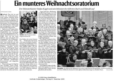In das Foto klicken-Rezension WO in der Münsterkirche Herford