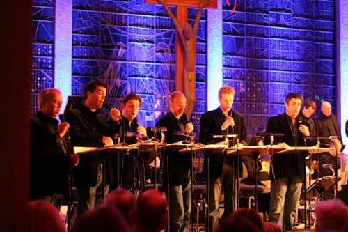 King's Singers in Bad Oeynhausen WO-Bach