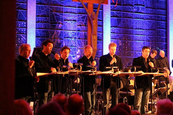 King's Singers in Bad Oeynhausen WO-Bach