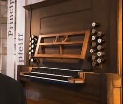 Historische Orgel im neuen Bach-Museum Leipzig
