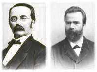 H. E. Steinweg und William Steinway - Flügelbauer