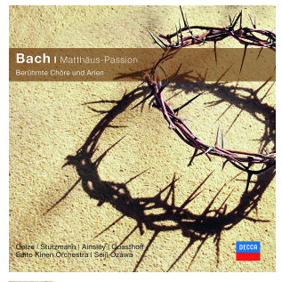 """J.S. Bach """"Matthäus-Passion"""" - Ozawa, Seiji/ Saito Kinen Orch."""