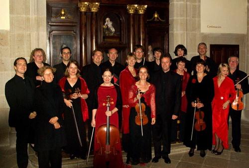 Das Magdalena Consort vor seinem Debütkonzert in Santiago de Compostela - © www.magdalenaconsort.com