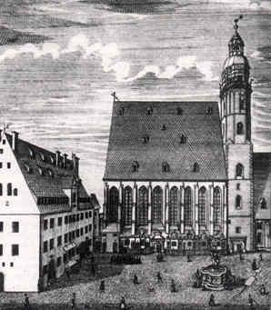 Thomaskirche und Thomashof Leipzig