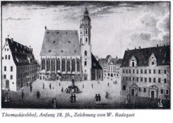 Thomas-Kirchhof in Leipzig